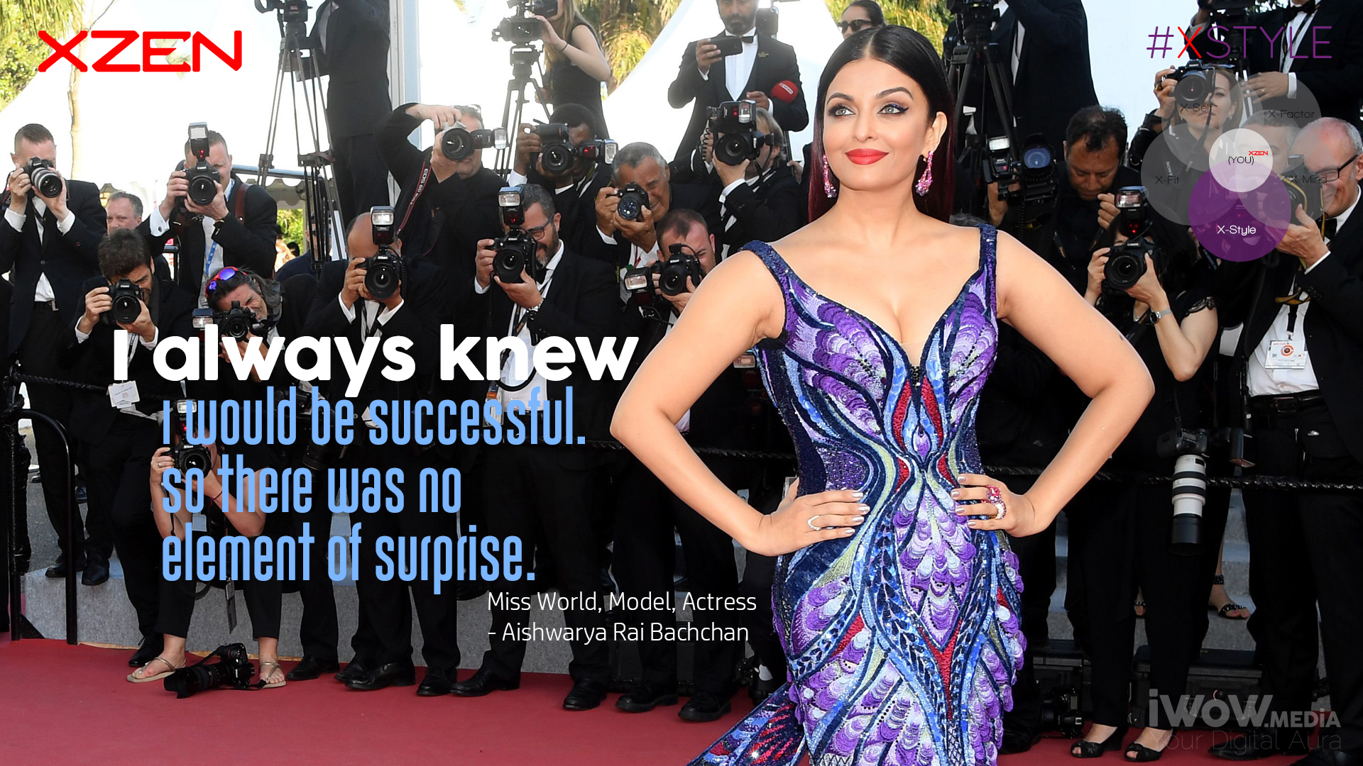XSTYLE Aishwarya Rai
